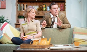 Claire Skinner and Toby Stephens in A Day in the Death of Joe Egg.