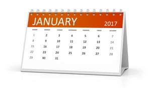 table calendar 2017. Image shot 02/2016. Exact date unknown.G0GN8Y table calendar 2017. Image shot 02/2016. Exact date unknown.