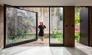 Architect Mary Duggan at King's Grove, Peckham