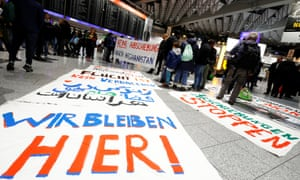 Demonstrations against deportations from Germany to Afghanistan