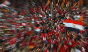Egypt fans were disappointed that their team fell short of expectations at the Africa Cup of Nations.