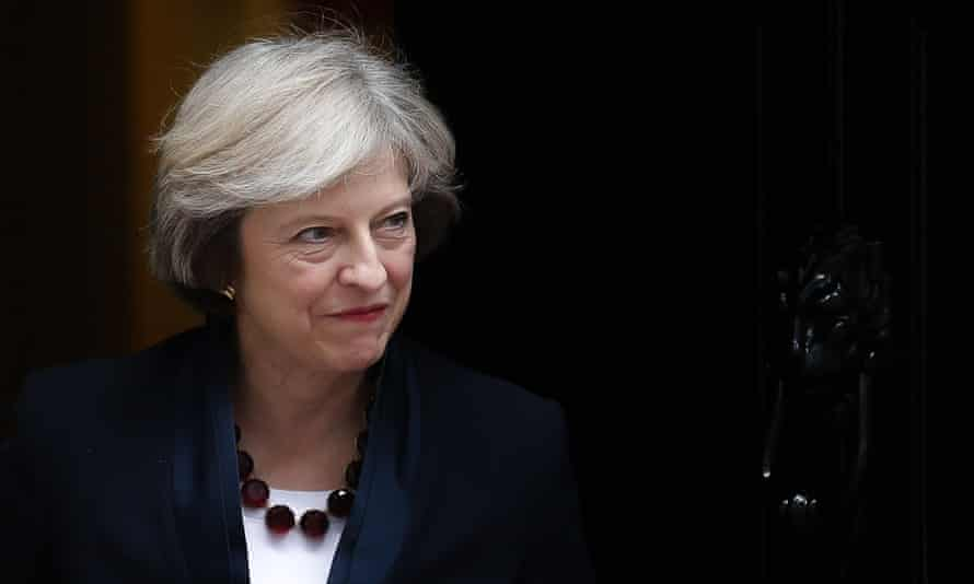 Theresa May was facing defeat in the Commons over the motion.