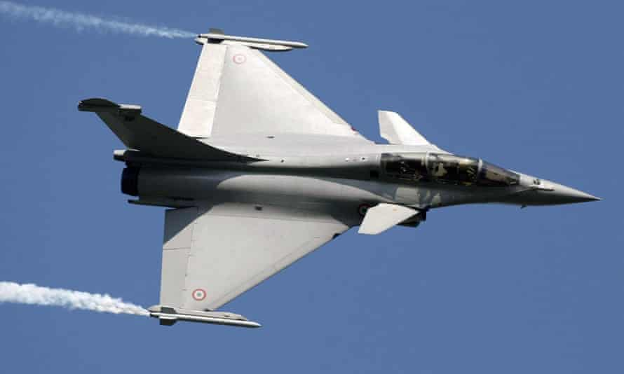 French Rafale fighter jet