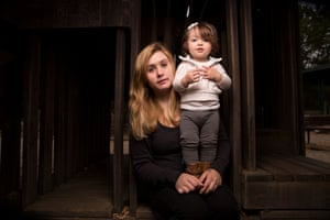 Ginger Rouse with her 15 month old daughter