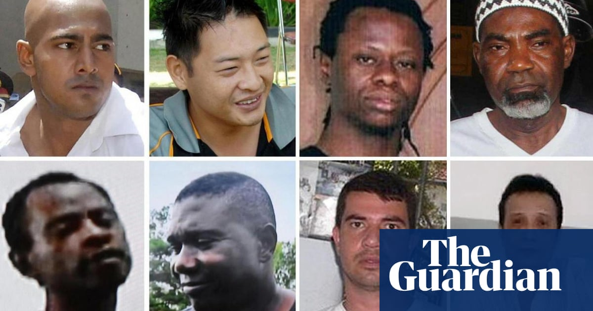 Who Were The Eight People Executed By Indonesia Indonesia The Guardian