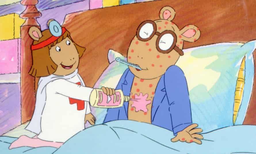 Arthur the aardvark and friend