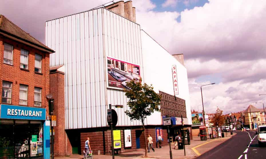 The Safari cinema, Harrow: 'It was the first cinema we knew about that only showed only Bollywood films.'