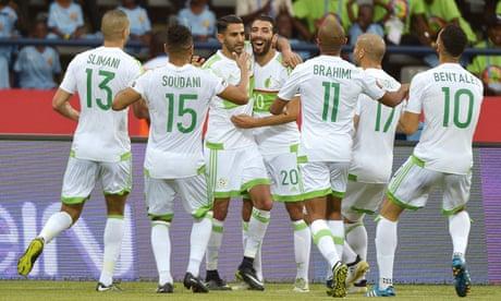 Afcon 2017: Riyad Mahrez scores twice to rescue draw against Zimbabwe