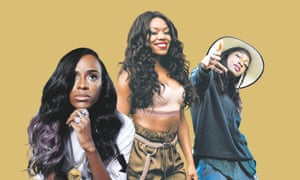 Angel Haze, Lady Leshurr and Little Simz