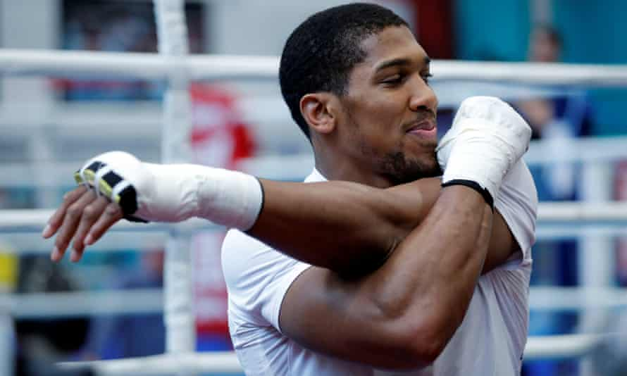 Anthony Joshua said Joseph Parker, who he will fight at Wembley next Saturday, is dangerous because has speed, stamina and a good chin – and 'a bit more all-round game than Deontay Wilder'.