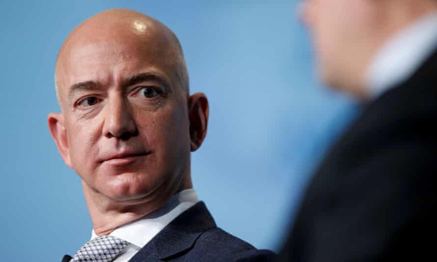 Jeff Bezos, 57, founded Amazon in 1994 and made it one of the largest companies in the world.