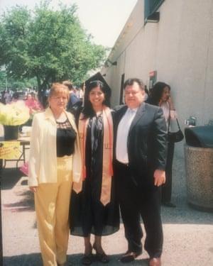 Julissa Arce at her college graduation in 2005