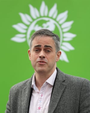 Jonathan Bartley, co-leader of the Green party