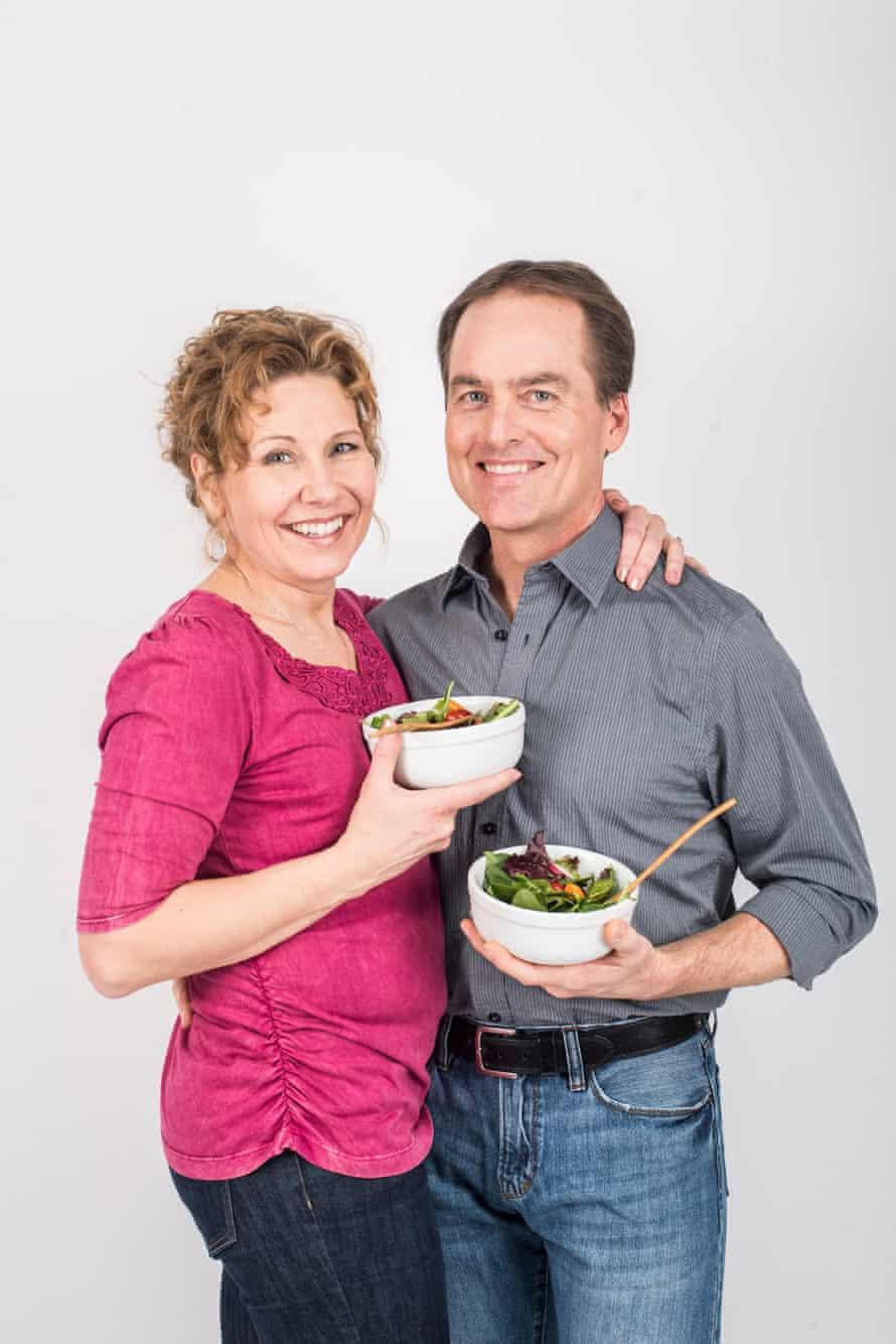 Pia Strobel and Dale Graff