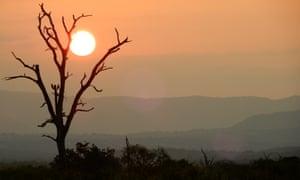 Sunset, Mkhaya, Eswatini