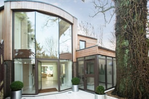 Fantasy : glasshouses : Hampstead, North west London