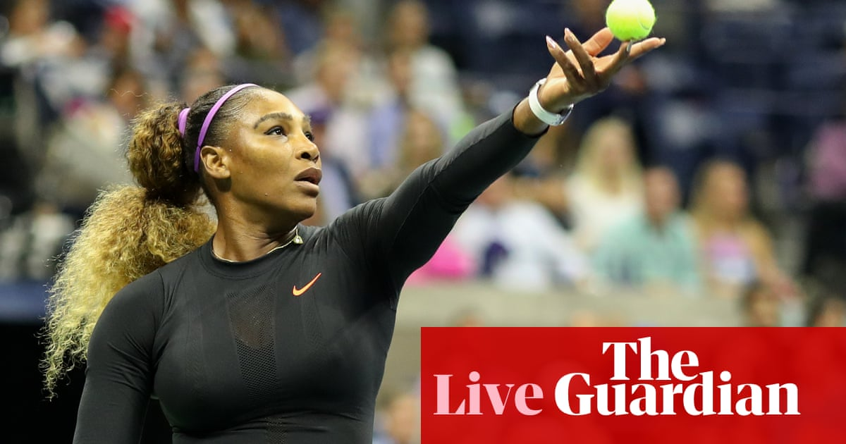 US Open 2019: Serena Williams, Barty in action, Federer beats Evans – live!