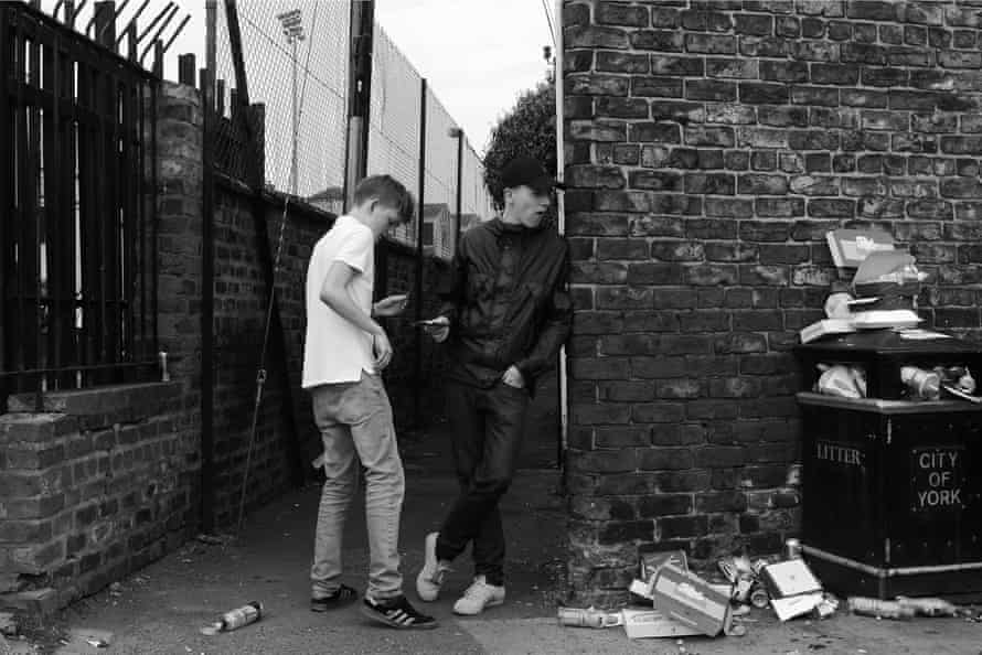 Lads and litter