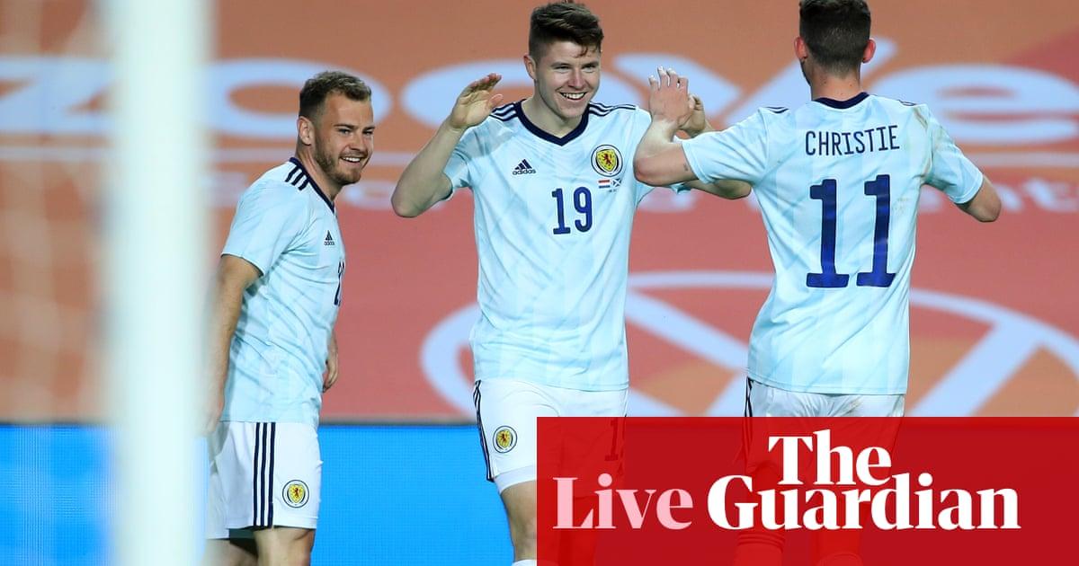Netherlands 2-2 Scotland, France 3-0 Wales: clockwatch – as it happened