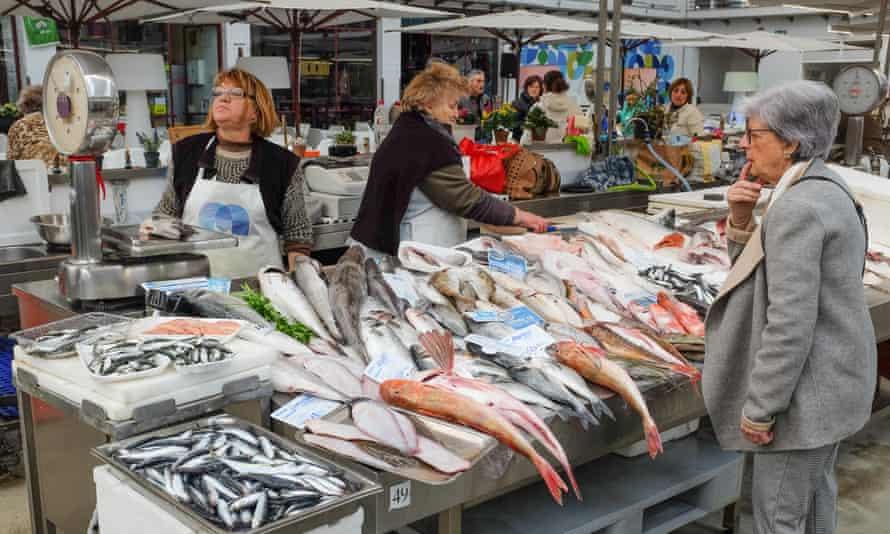 Mercado de Matosinhos, Porto, Portugal