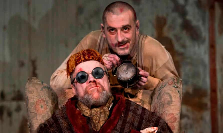 The Citizens Theatre production of Endgame at HOME, Manchester.