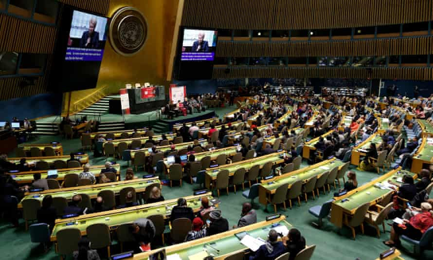 The UN Commission on the Status of Women at the UN headquarters in New York