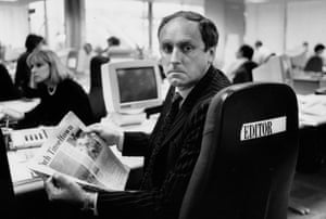 Paul Dacre edited the London Evening Standard 1991/1992.