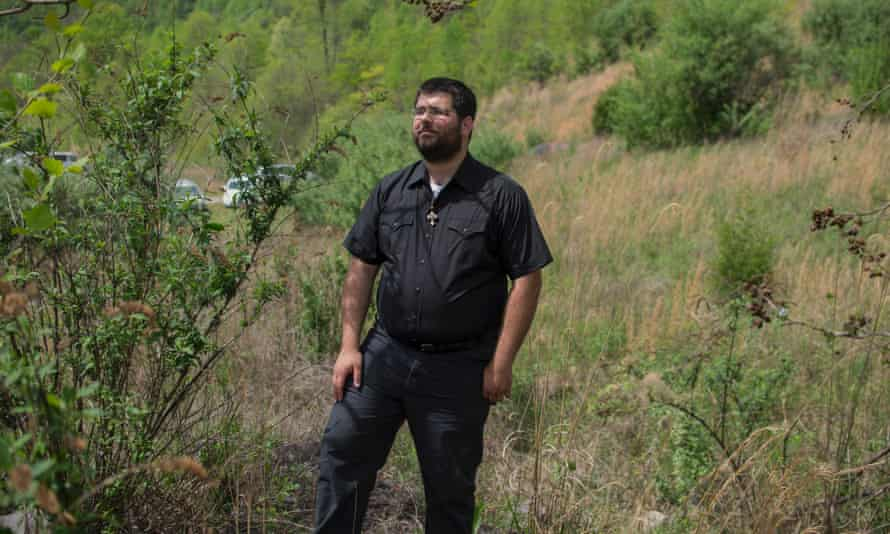 Matthew Heimbach was caught on video repeatedly shoving a black protester at a Trump rally.