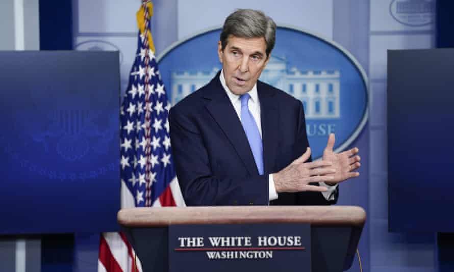 The US climate envoy, John Kerry