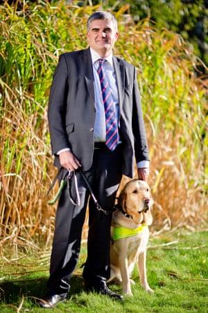 Neil Heslop, Leonard Cheshire's chief executive.
