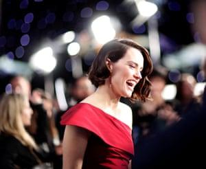 Cast member Daisy Ridley.