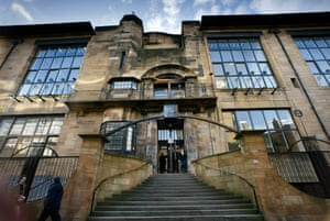 'The miraculous flowering of a unique moment': Mackintosh's 1909 Glasgow School of Art, pictured in 2002.