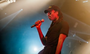 Elicits squeals from his teen fans … Dev Hynes, AKA Blood Orange.