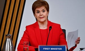 Nicola Sturgeon gives evidence to a Scottish parliament committee examining the handling of harassment allegations against Alex Salmond.