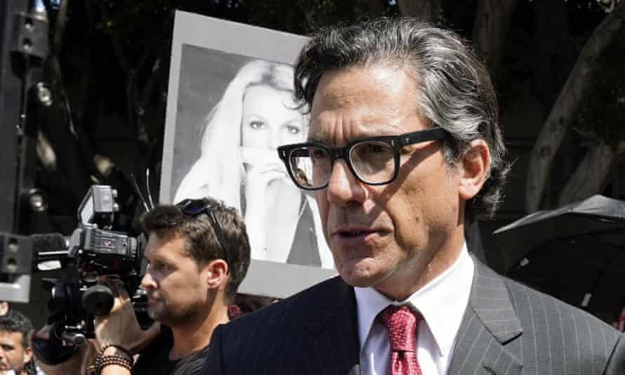 Britney Spears' newly appointed lawyer Mathew Rosengart.