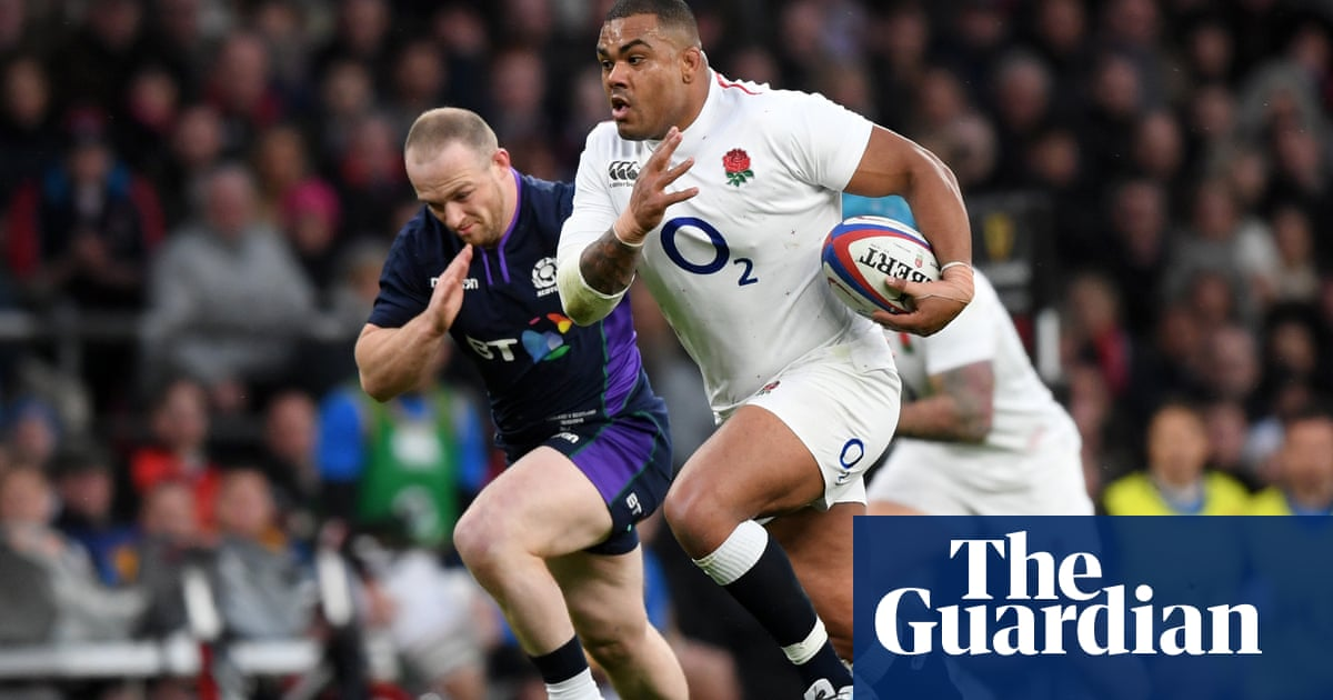 Kyle Sinckler: 'You think Eddie is tough? My mum put me in my place'