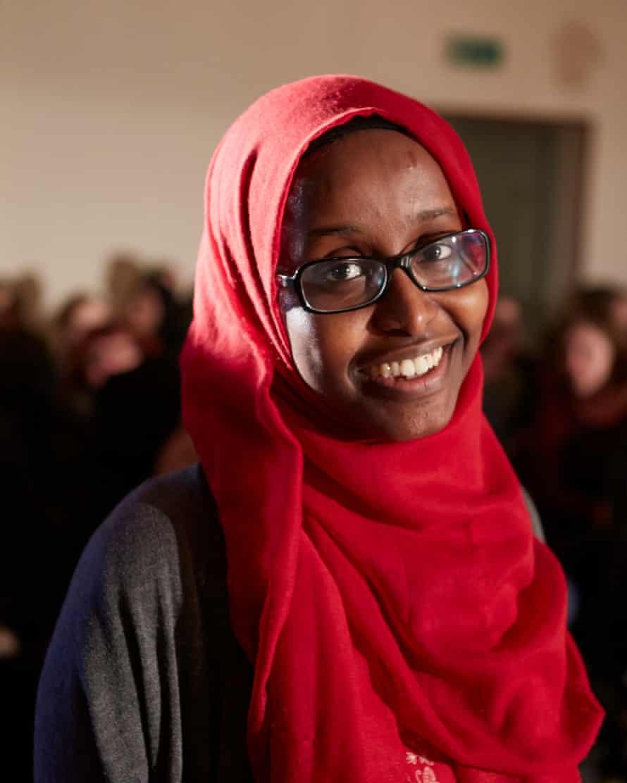 Momentum activist Faduma Hassan