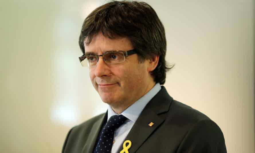 Puigdemont remains in self-imposed exile