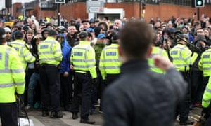 Figures show there were 75 arrests at football matches in 2017-18 where racism was recorded as a feature.
