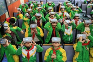 Hunan, China Primary school children