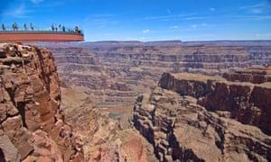 Grand Canyon Skywalk, Arizona, US