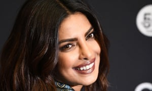 Priyanka Chopra appeared on the cover of Condé Nast Traveller India in a t-shirt bearing the words Refugee, Immigrant, Outsider crossed out leaving the word Traveller.