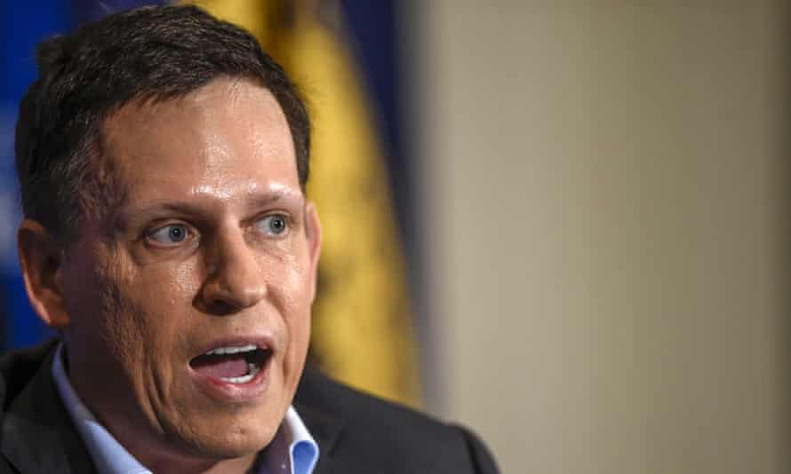 Peter Thiel has said he will 'try to help the president in any way I can'.