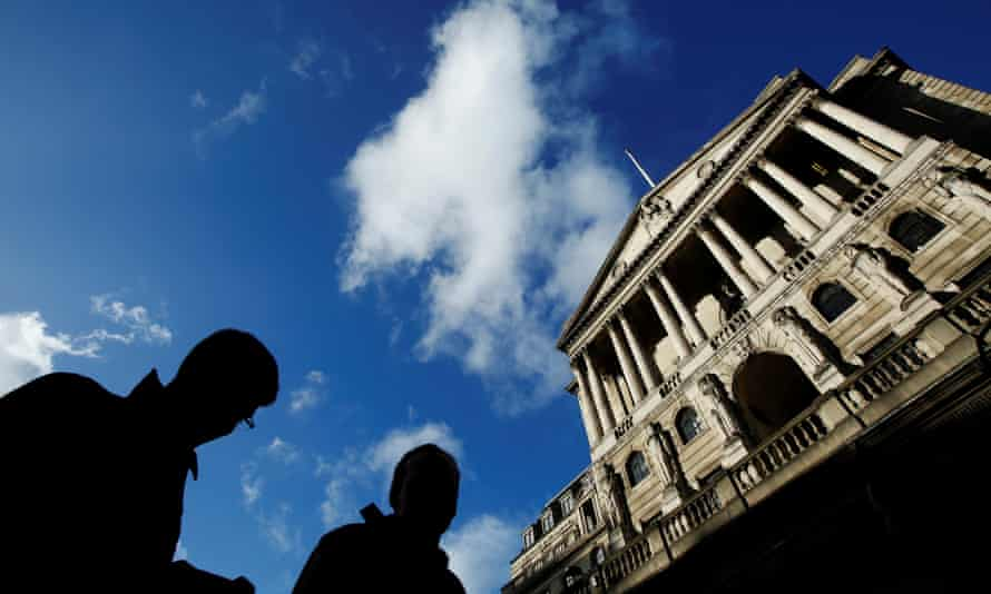 Bank of England predicts inflation could rise to 6.5% if Britain leaves the EU without a deal.
