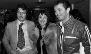 Trevor Francis with his wife, Helen, and Nottingham Forest's manager, Brian Clough, after becoming Britain's most expensive player.