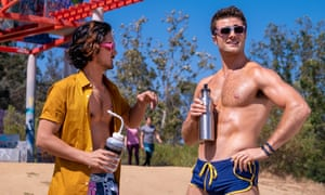 Avan Jogia and Beau Mirchoff in Now Apocalypse.