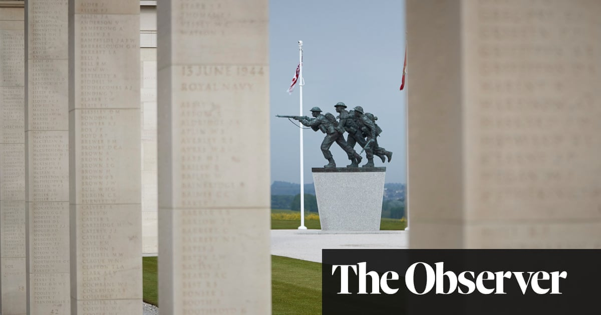 Normandy marks D-day anniversary with new memorial