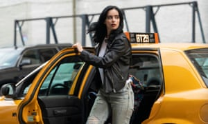 Sarcastic, swaggering and real ... Jessica Jones.