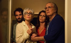 A scene from the TV series Transparent. Dodge has collaborated with Silas Howard, a director on the show