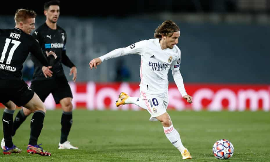 Luka Modric was in imperious form for Real Madrid.